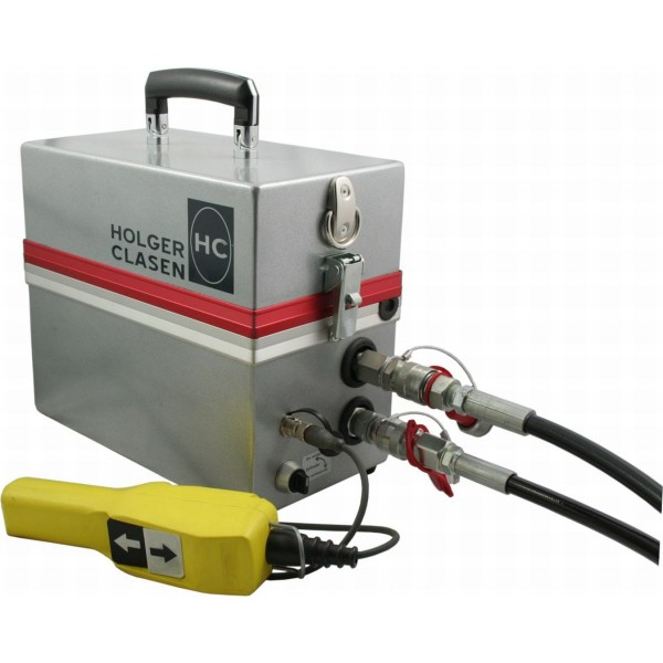 Battery-operated hydraulic pump