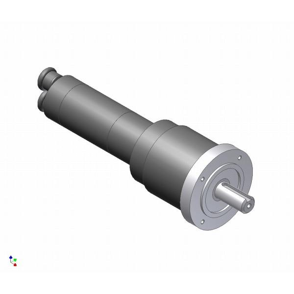 Doppelrotor Druckluftmotor
